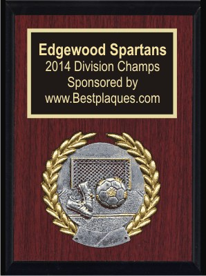 Sports Plaques 6x8 Classic Cherry
