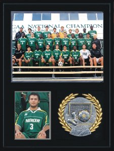 Sports Photo Plaque Kits Black