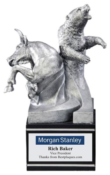 Bull Bear Award Statue