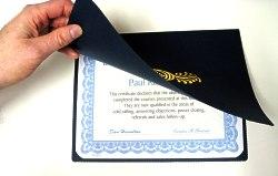 Certificate Holders Folders