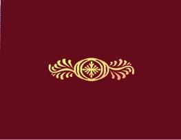 Maroon Certificate Folder