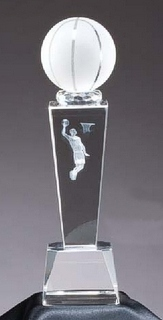Crystal Award Basketball