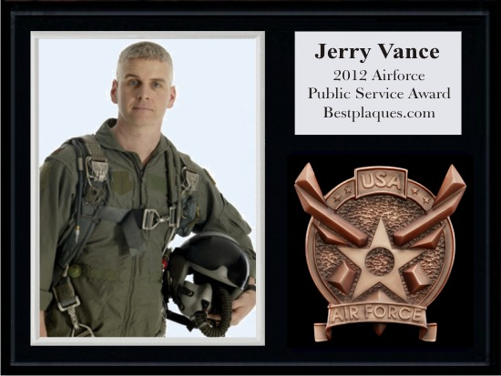 Air Force Photo Plaques
