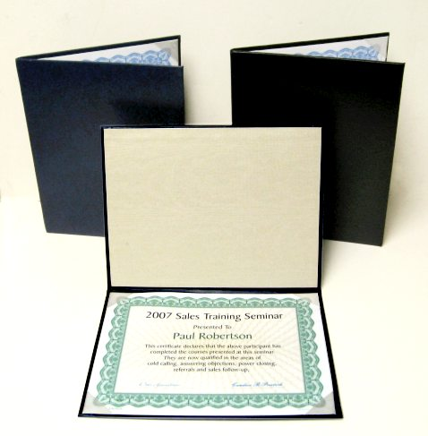 Certificate Holders