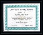 Certificate Plaques Discount