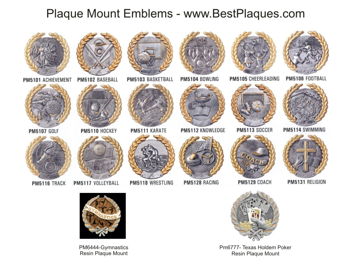 Plaque Emblems