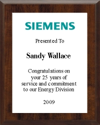 Full Color Logo Plaques