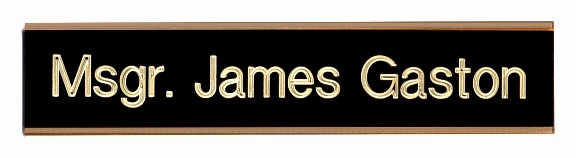 Door Nameplate plaque