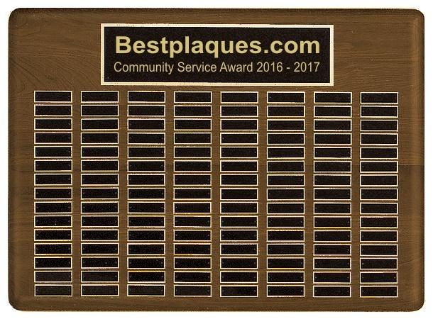Perpetual Plaque 120 Plates