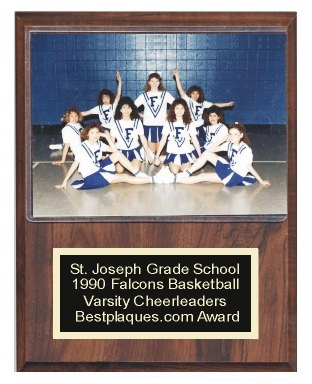 Photo Plaque for 5x7 Sports Team Photo