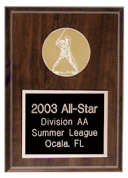 Sports Plaque with Emblem