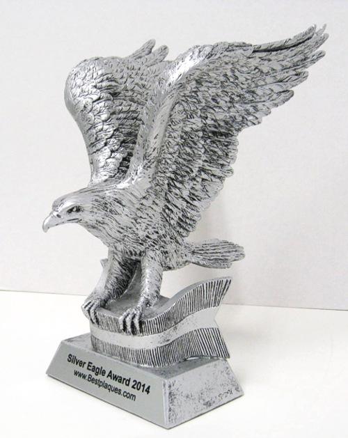 Silver Eagle Award 10 inch