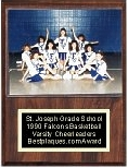 Sports Photo Team Plaque for 5x7