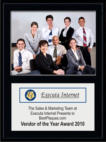 Photo Plaque with Logo