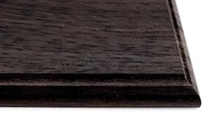 Certificate Plaques - Kits Dark Walnut Edge