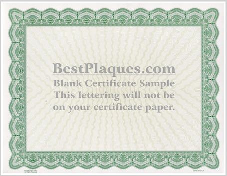 Certificate Paper 8.5x11