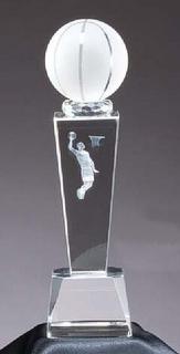 Crystal Award Basketball