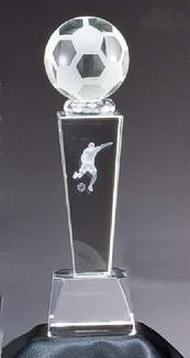Crystal Award Soccer