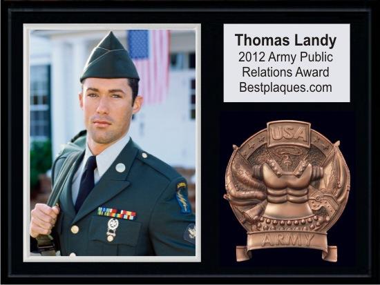 Army Photo Plaque