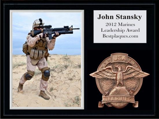 Marines Photo Plaques
