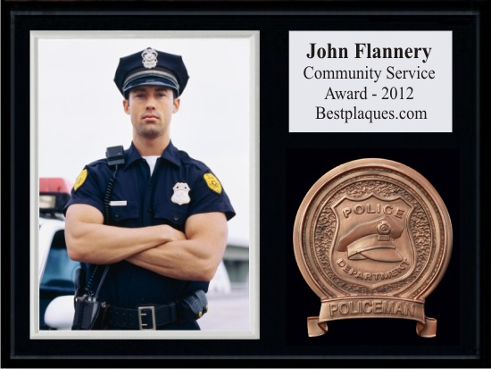 Police Photo Plaques