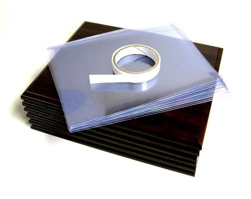 Certificate Plaques - Kits Dark Walnut