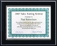 Certificate Plaques for 4x6 Document