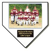 Home Plate Plaque - Team Photo