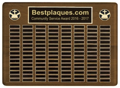 Perpetual Multi Plate Plaque with medallions
