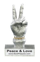 Peace Bobble hand