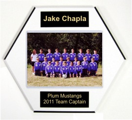 Soccer Ball Plaques