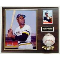 Photo - Card & Baseball Plaque
