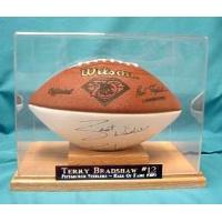 Football Oak Base Display Case