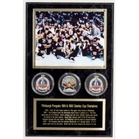 Photo & 3 Puck Ultimate Plaque - Item #MRP3
