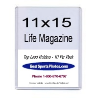 11x15 Life & Large Magazine Top Load - Pack of 10