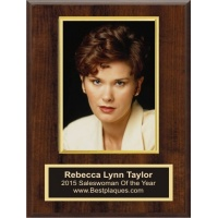 """5x7 Deluxe VERTICAL Photo Plaques 9x12"""" Plaque Holds 5x7 Photo"""