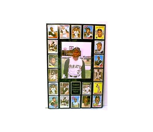 20 Card & Photo Plaque Kit  - Holds 20 Cards, One 8X10 Photo Top Load & 4 Lines of Free Engraving