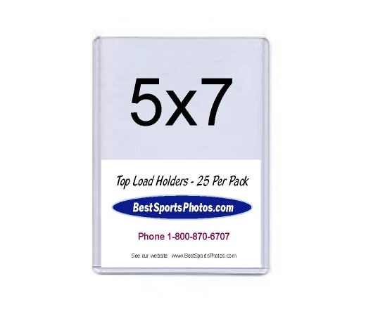 5x7 Photos Top Load Holder - Pack of 25