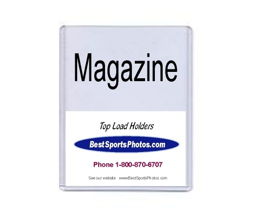 8.5x11.25 Magazine Top Load Holder - Pack of 10